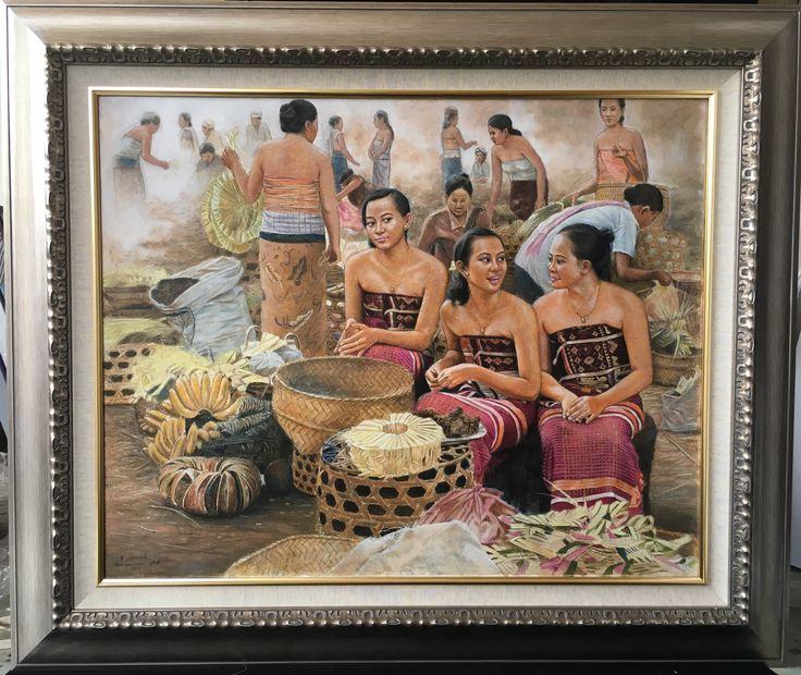 Balinese girl pastel painting @bulan ayu painting gallery Instagram : bulanayupaintinggallery Contact Person: tlp: +62361296904|whatsup: +6289690470730|bbm: 5B917FAC|email: bulanayupainting@gmail.com/bulanayupainting@yahoo.com address: Jl.Raya Batu Bulan no.98,gianyar-Bali