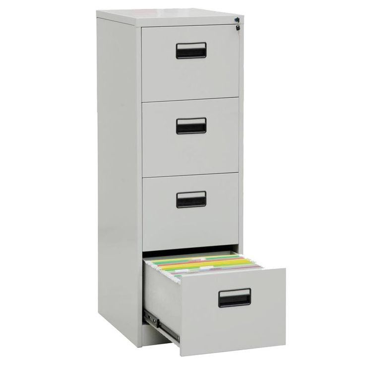 4 Drawer Metal File Cabinet With Lock Roselawnlutheran