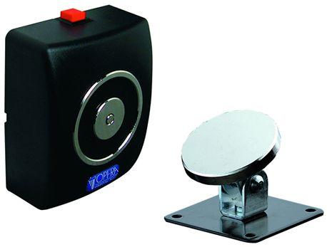 Elettromagnete con pulsante di sblocco per porte tagliafuoco
