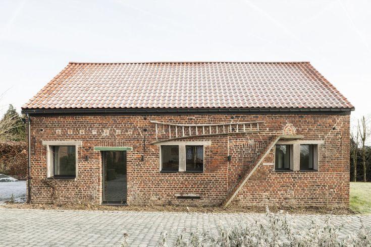 #Architecture in #Belgium - #Refurbishment by Studio Farris Architects
