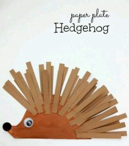 hedgehog crafts and learning activities for children (1)