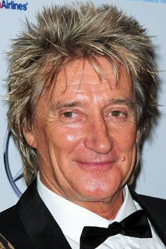 Rod Stewart Spikes it Up to Stay Forever Young