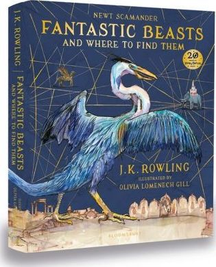 Fantastic Beasts and Where to Find Them by JK Rowling writing as Newt Scamander - features an extraordinary array of magical creatures, from Acromantula to Yeti via ten different breeds of dragon - all beautifully illustrated in full colour by the brilliantly inventive, Greenaway Medal shortlisted Olivia Lomenech Gill.