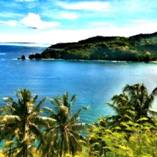 Sengigi at lombok island..