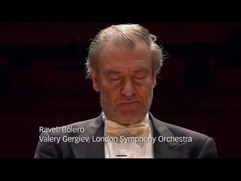 Maurice Ravel - Bolero ... a masterful performance of the subtle, ever-changing, ceaseless crescendo to musical ecstasy, by the London Symphony Orchestra, cond. by Valery Gergiev - YouTube