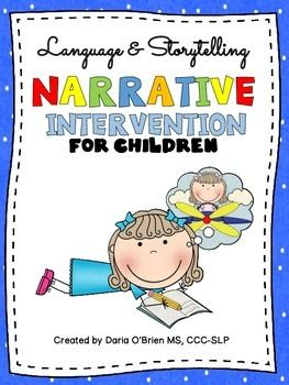 Children with language-based learning difficulties need to learn critical academic skills.  Due to the importance of understanding and telling stories,  Narrative Intervention for Children was developed as a story-based language intervention for elementary school students.