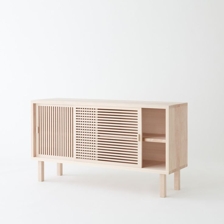 Buffet Kyoto is a minimalist design created by France-based designer Colonel. The partition based sideboard was inspired from partitions fou...