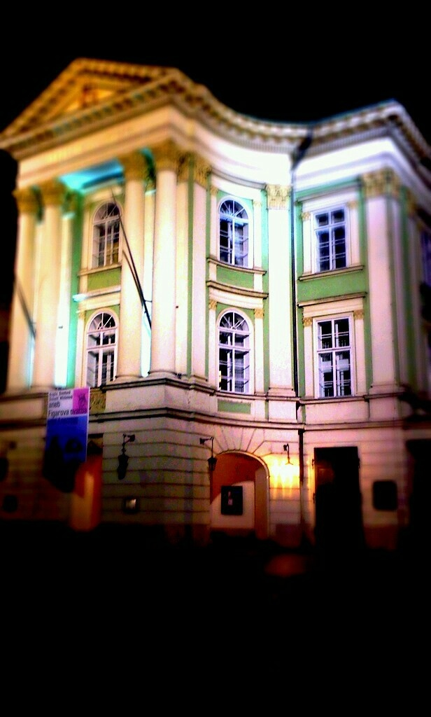 Stavovske divadlo in Prague-first place where Mozart's Don Giovanni was presented officially. The Estates Theatre was annexed to the National Theatre in 1948 and currently draws on three artistic ensembles, opera, ballet, and drama, which perform at the Estates Theatre