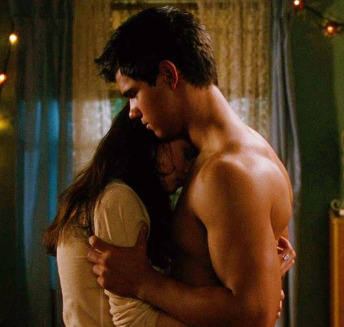 Bella Swan: [Noticing Jacob's physique up close] You're sort of beautiful.   Jacob Black: How hard did you hit your head?