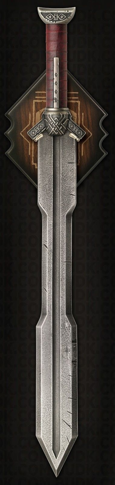 Kili's awesome sword. I'm getting pretty lightheaded here. Don't mind me...
