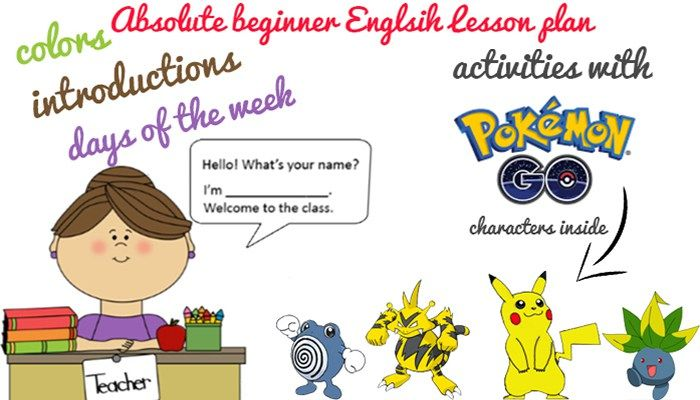 Welcome to the class! Absolute Beginner English Lesson Plan