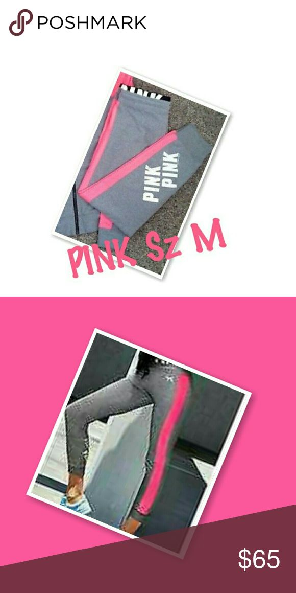 VS PINK Size Medium, GUC, Ultimate Gym Yoga Leggings. These are rare and hard to find so price is firm. PINK Victoria's Secret Pants Leggings