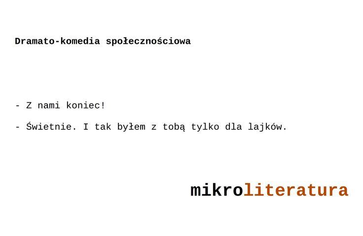 Dramato-komedia społecznościowa #socialmedia #miłość #dialogi #kobiety #mężczyźni