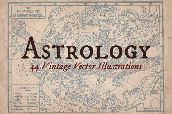 @newkoko2020 Vintage Astrology Illustrations by Mr Vintage on @creativemarket #bundle #set #discout #quality #bulk #buy #design #trend #vintage #vintagegraphic #graphic #illustration #template #art #retro #icon
