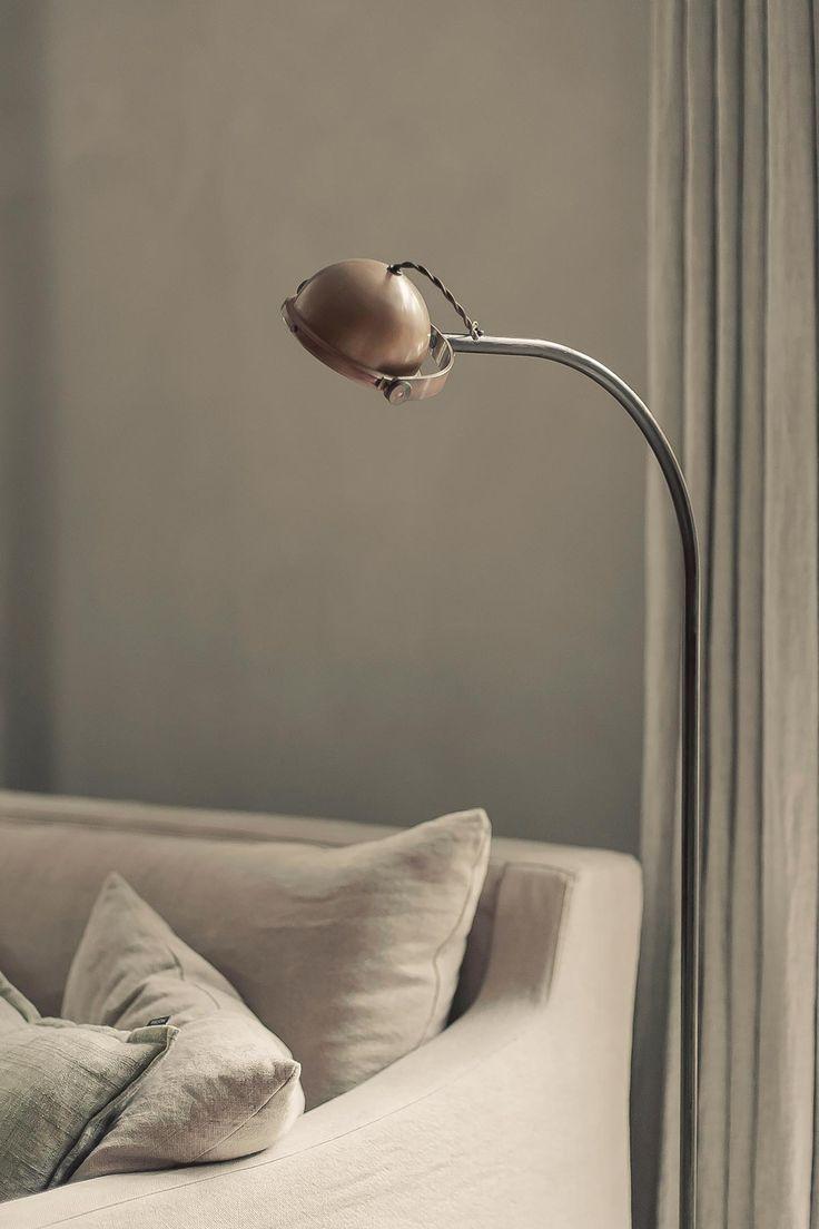 leeslamp koper tierlantijn | www.twoonhuis.nl