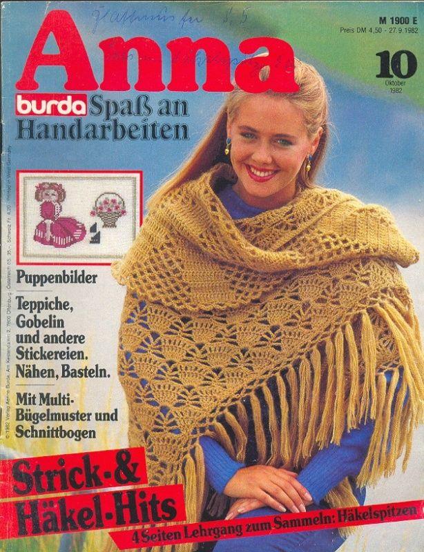 ANNA BURDA Spaß an Handarbeiten 1982 10