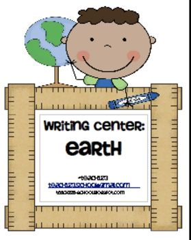 "From TEACH123-FREE  This is a writing center called ""How to be a friend to our planet."" This packet includes:  -circle pie organizer  -word bank  -story paper  *The only additional supplies you will need for this center is brads to connect the circle pie organizer.    For other ideas, hop over to my blog!  Teach123-school.blogspot.com"
