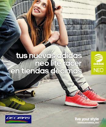 ¿Quieres ser aún más único?  La nueva gama de zapatillas   de venta en exclusiva en tiendas   y Décimas.es  Ven a conocerlas, te esperamos!!  Puedes verlas en nuestra web: http://www.decimas.es/calzado/adidas-neo-lite-race.html