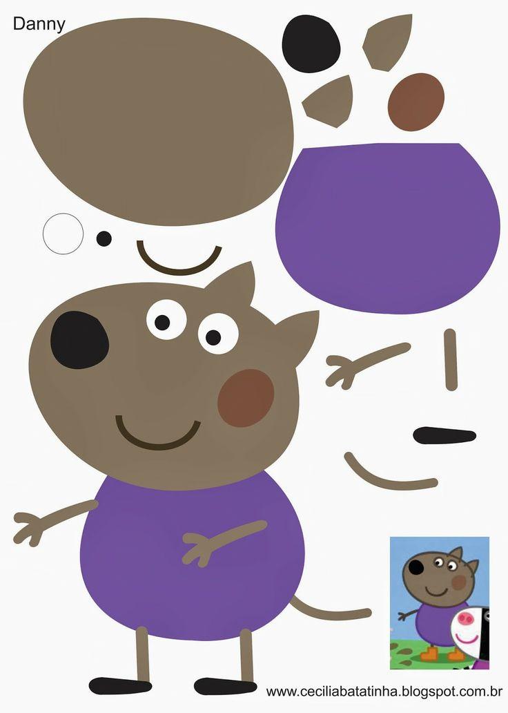 Peppa pig friend