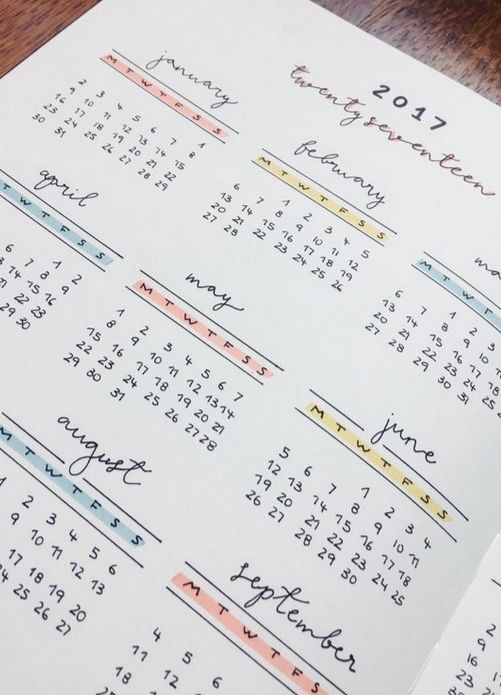 29 Bullet Journal Future Log Ideas + FREE Future Log Printable