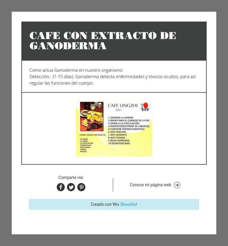 CAFE CON EXTRACTO DE GANODERMA