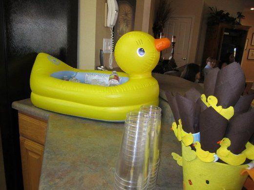23 best images about baby shower on pinterest rubber duck centerpieces jar. Black Bedroom Furniture Sets. Home Design Ideas