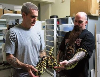 henry rollins, kerry king, snake