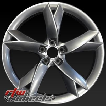 "Audi wheels for sale 2008-2014. 19"" Silver rims 58827 - http://www.rtwwheels.com/store/shop/19-audi-wheels-for-sale-silver-58827/"