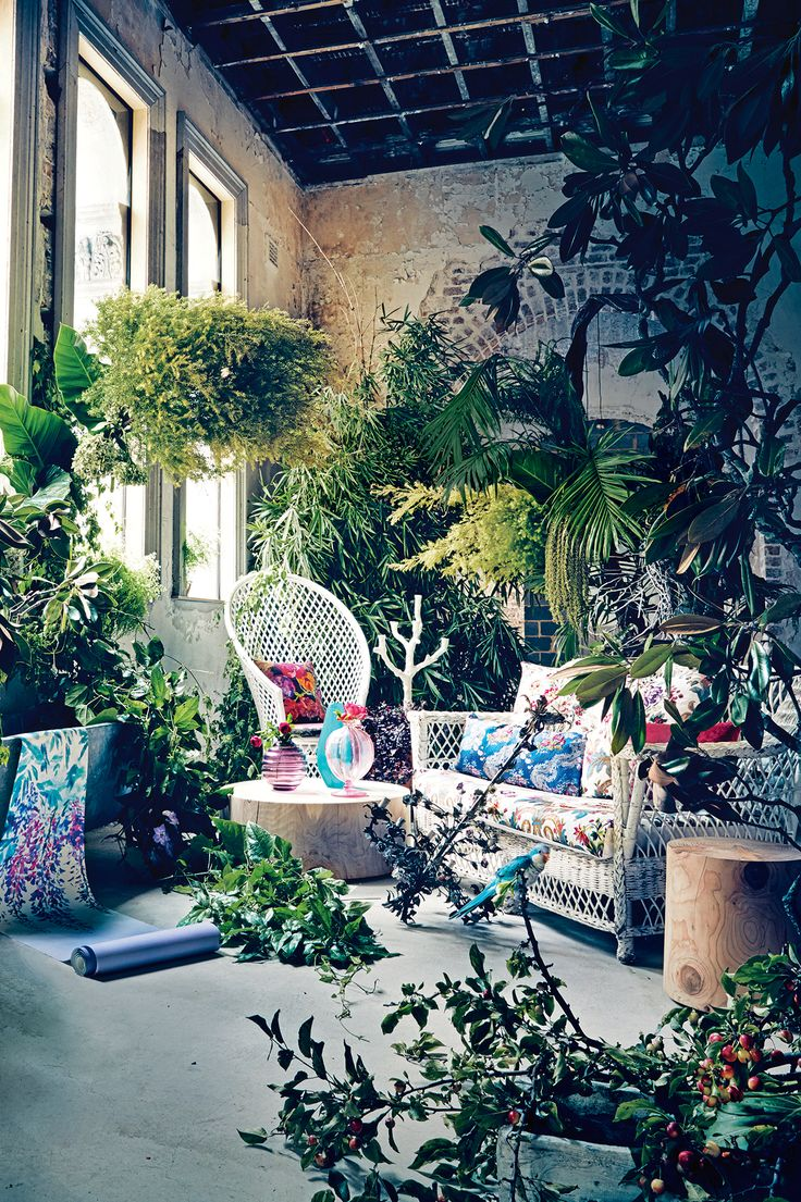 An enchanted forest May/June 2015 issue of Vogue Living | @theluxeboheme