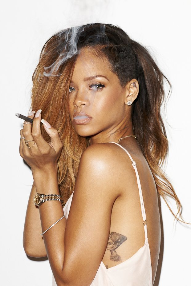Rihanna's Illuminati Tattoo Revealed | RumorFix