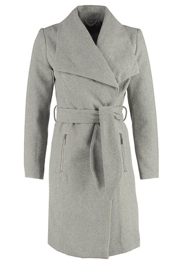 Vero Moda VMKATE Krótki płaszcz light grey melange - 309.00 zł