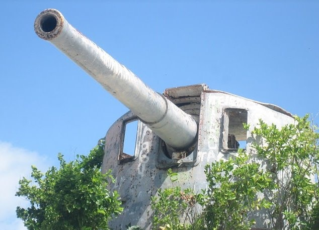Gun emplacement - South Tarawa, Kiribati