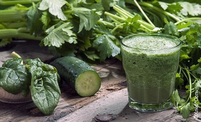 Зеленый смузи для похудения и красоты