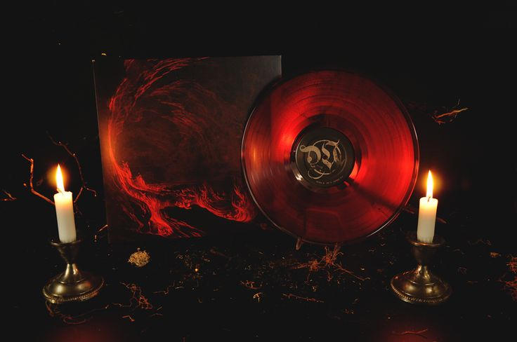 Misþyrming - Söngvar elds og óreiðu LP (Red & Black)