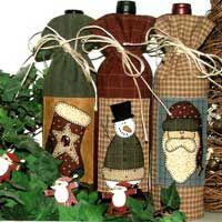 Wine Bottle Bags Pattern