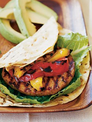 Fajita Burgers and Mexican food doesn't have to break your calorie bank!