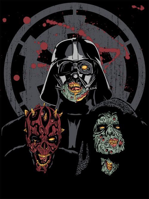 Imperial zombiesImperial Undead, Zombies Sith, Star Wars, Dark Side, Stars Wars, T Shirts, Sith Zombies, Zombies Stars, Starwars