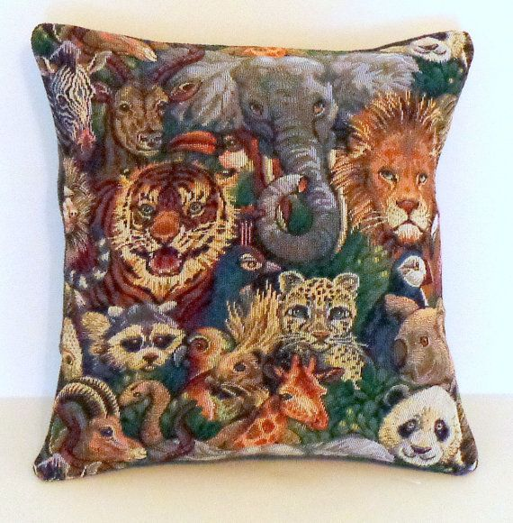 Zoo Animal Pillows : 204 best For the Home images on Pinterest Basket, Hamper and Home decor