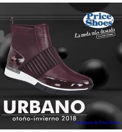 49e9ea51 Catalogo Price Shoes Urbano Otoño Invierno 2018. Calzado Urbano, Tenis  Urbanos de Moda,