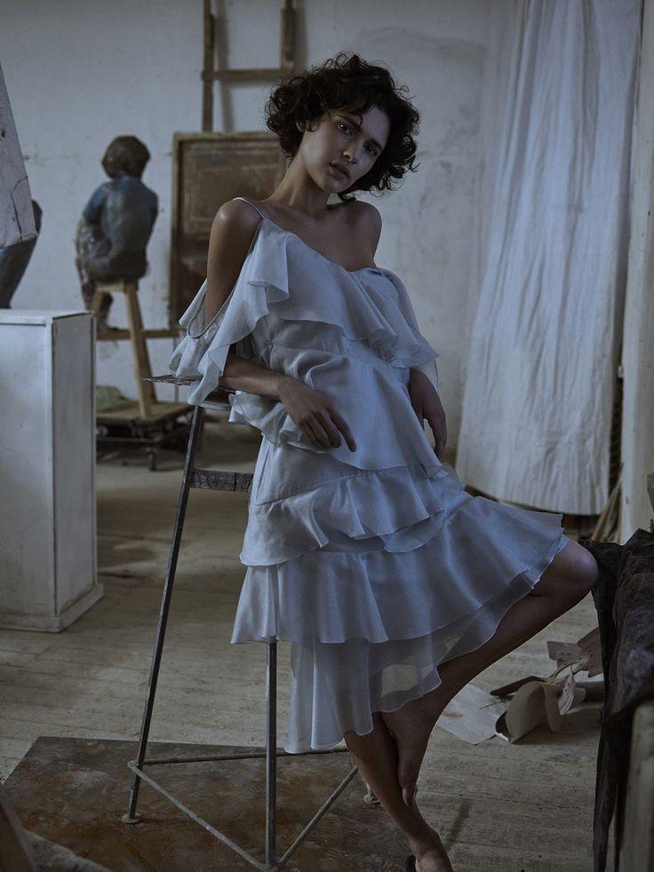 iana godnia by phil poynter for vogue ukraine march 2016   visual optimism; fashion editorials, shows, campaigns & more!