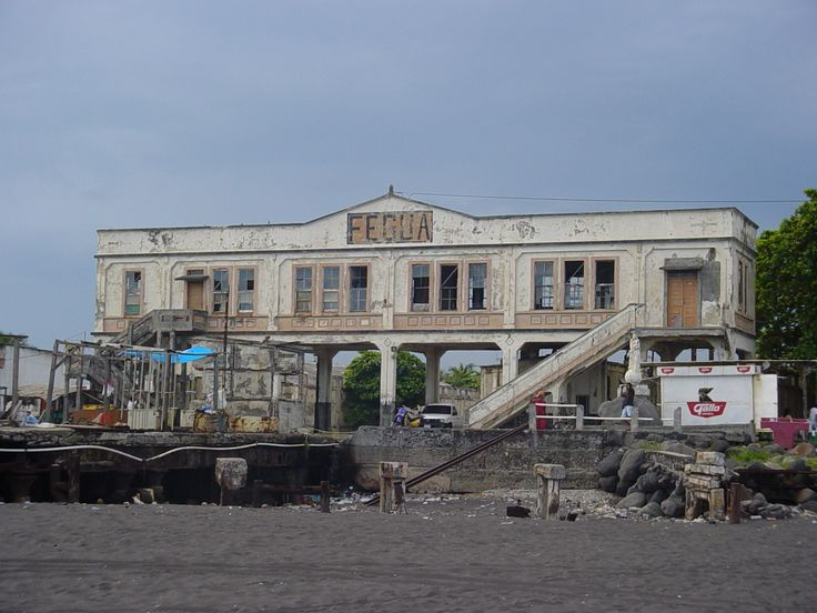 Guatemala - Train station Puerto San Jose