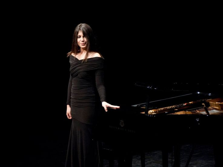 Virna Kljakovic at Lisinski Hall, Zagreb Pianists Pinterest