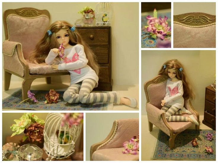 Tatyana Tuzova Toddler Bed Barbie Furniture Home Decor Homemade Imagepost 1