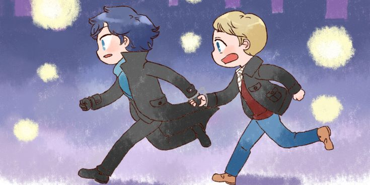 [BBC SHERLOCK] Run by twosugars16 on DeviantArt