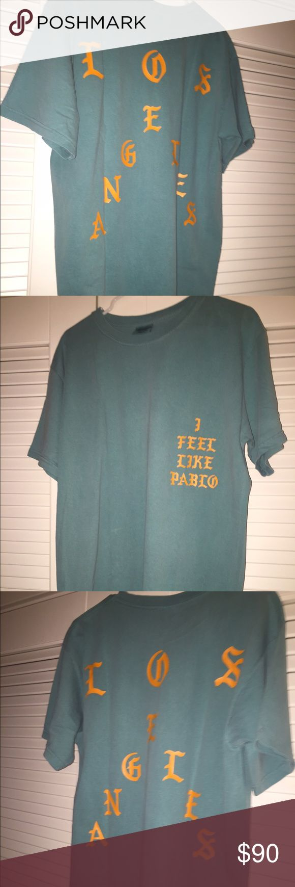 Kanye West tour merch TLOP size Large brand new. Brand new never worn the life of Pablo your shirt. Size large. kanye west Yeezy Shirts Tees - Short Sleeve