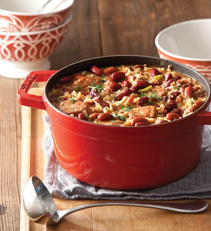 Nothing beats a good Red Beans and Rice, and ours is no exception. With smoked sausage and garden veggies, it will leave you smiling after each bite.