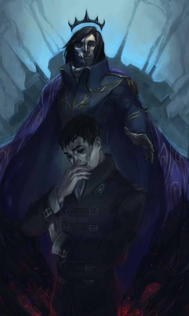 "vicious-mongrel: "" Corvo the Rat King & Outsider (just Outsider). I know, it could be better, but eh whatever. """