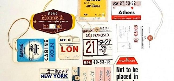 #Retro baggagetags