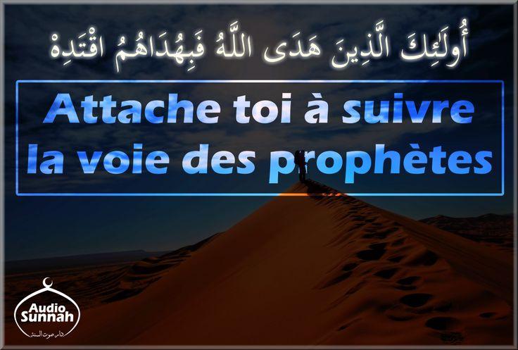 Cet audio est une exhortation à suivre la voie des Prophètes et des Messagers et ceci passe par le fait d'étudier leurs parcours, leurs récits (qu'on retrouve dans le noble Coran et la Sunnah authentique). télécharger le Fichier : Attache_toi_a_suivre_la_voie_des_prophetes.mp3...
