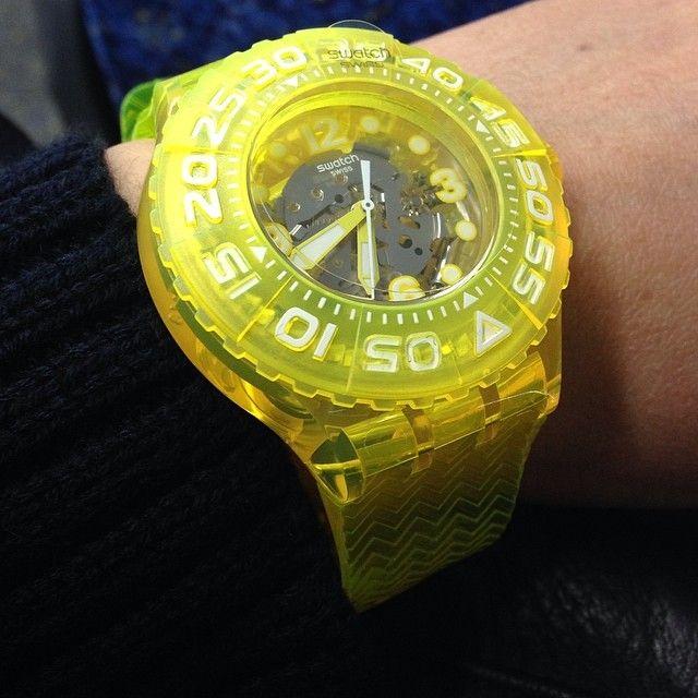 #Swatch LEMON PROFOND http://swat.ch/1ioIORi